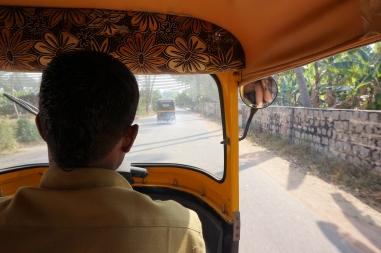 In the Tuc Tuc / Rickshaw