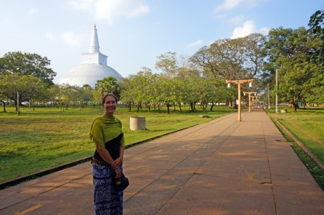 Soph in the Sacred City, Anuradhapura