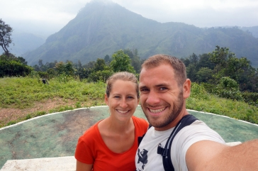 We found a heli pad on the way to Little Adam's Peak