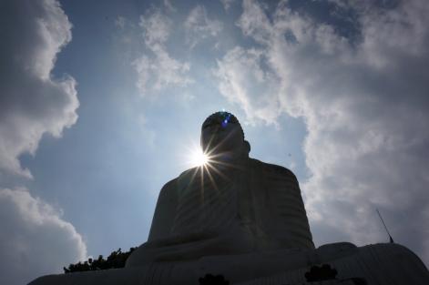 Giant Buddha in Kandy