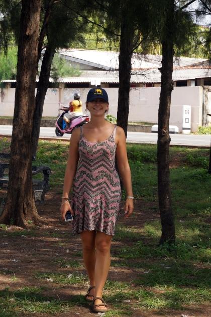 Soph in her tourist twat hat.