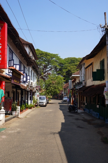 Princess Street in Fort Kochi