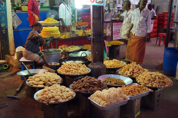 Some of the delicious street food
