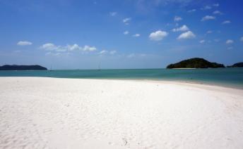 Pantai Cenang in the day