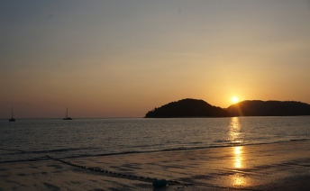 Another of the epic Pantai Cenang sunsets