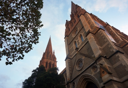 St. Pauls Cathedral in central Melbourne