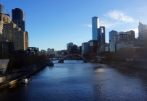 Down on the Yarra River