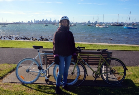 A little cycle to Williamstown