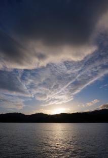Sunset in Abel Tasman