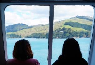The Ferry through the Marlborough Sounds