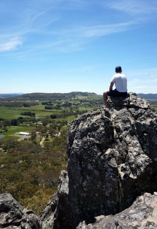 Epic day of clambering around the rocks at Hanging Rock