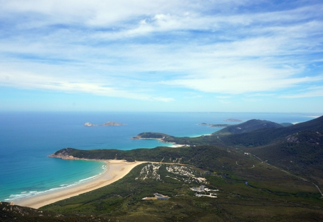 The view from Mt Oberon at Wilson's Promontory
