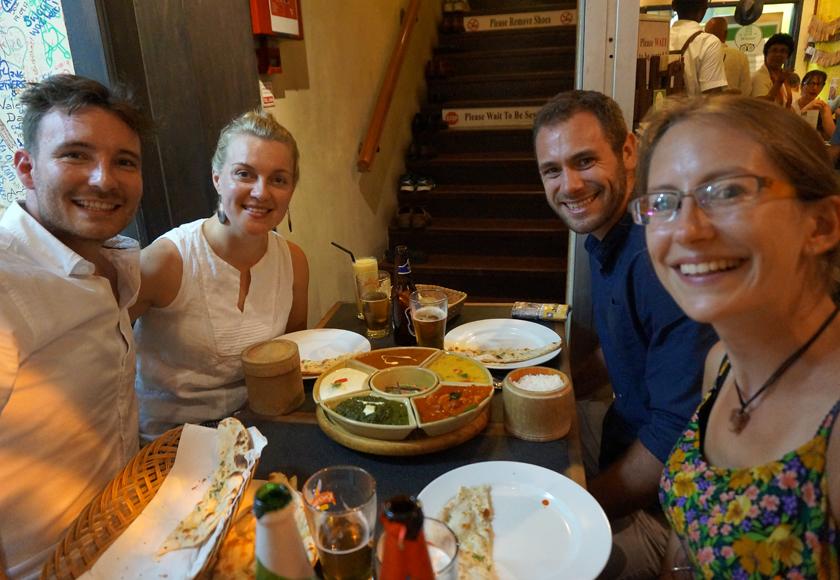 Dinner in Little India
