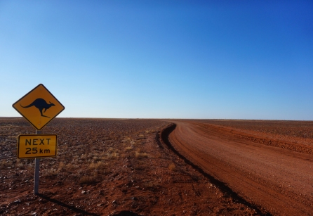 The road to The Breakaways